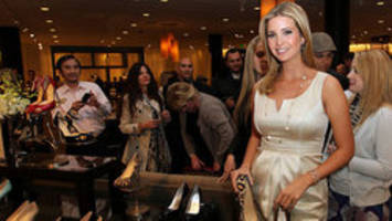 People boycotting Ivanka Trumps's fashion line with #grabyourwallets campaign