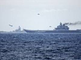 vladimir putin's armed fleet heads for dover as russia squares up to royal navy vessels
