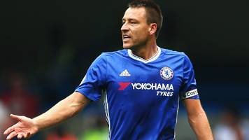 chelsea skipper terry fit for hammers cup clash