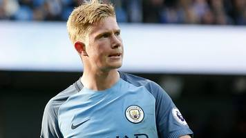 de bruyne out of manchester cup derby