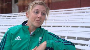 heather knight: england captain welcomes parity for women at 2017 world cup
