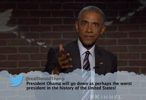 Obama Reads A Mean Tweet From Donald Trump