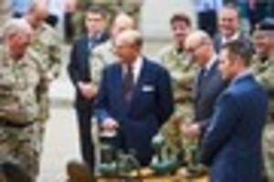 find out what prince philip was doing with robots in bristol...