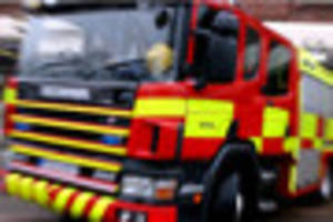 firefighters and ambulance called to house fire in goldenhill