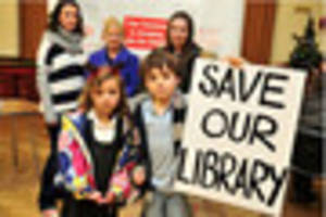 gower library campaigners aren't disheartened despite transfer...