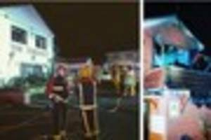 Arsonists strike at former Walsall restaurant the Terrace in A5...