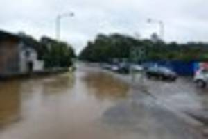falmouth floods: cornwall council claims drains were cleared...