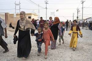 mosul offensive displaced 7,000 people: un