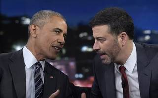 Obama burns Trump on 'Jimmy Kimmel Live': 'At least I'll go down as a president'