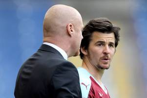listen to sean dyche label rangers outcast joey barton 'first class' amid speculation linking player with burnley return