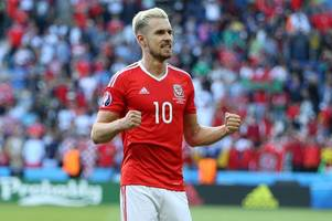 arsenal fc star aaron ramsey set for injury return ahead of wales' crucial world cup qualifier with serbia in november