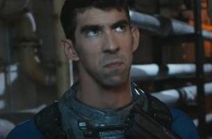 michael phelps breaks out game face again for 'call of duty' trailer
