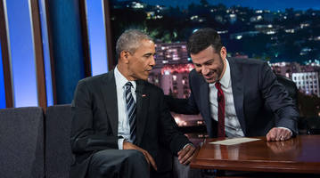 president obama talks cubs and bill murray with jimmy kimmel