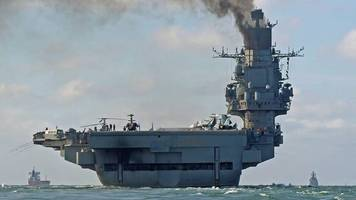 Spain 'to review' refuelling of Russian warships