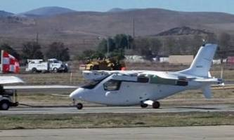google exec's secret electric flying car spotted. it flies, but it's not a car