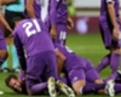 zidane: nacho's goal better than my champions league final volley