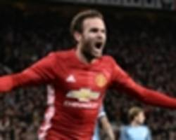Manchester United 1-0 Manchester City: Mata strikes to down Pep's men in derby