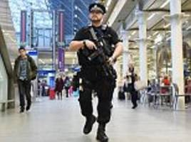 Police officers carrying guns on London Tube trains as counter-terror measure