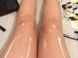 Bizarre optical illusion divides social media… so can YOU spot what is wrong with this pair of legs?