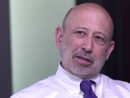 lloyd blankfein, now in remission, describes the initial moments of his cancer diagnosis (gs)