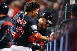 cleveland indians take 1-0 lead in world series