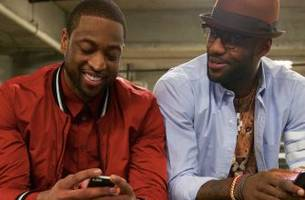 LeBron James accepts World Series bet from Dwyane Wade