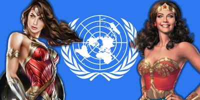 Wonder Woman's a UN Ambassador: And People aren't very happy about it