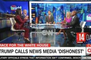 'He Was a Grown-Ass Man!': CNN Panel Ignites Over Trump's Language