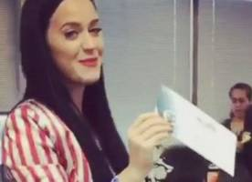 Katy Perry Celebrates 32nd Birthday by Voting for Hillary Clinton and Hitting Kanye West's Concert
