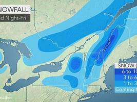 Latest Details on East Hampton-Portland's First Possible Snowflakes and Much Needed Rain