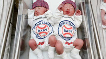 Cleveland Indians get boost from 'World Series Babies'