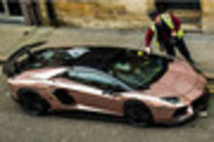 lamborghini won't escape ticket for double-yellow line parking