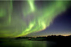keep your eyes on the skies as northern lights will be visible...