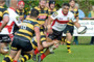 camborne skipper sam  matavesi out  to end on a  high in his...