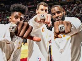 "LeBron James & JR Smith Turn Emo Over Championship Rings: ""Emotions Was Running Heavy"""