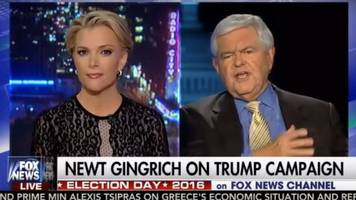 US election: Newt Gingrich accuses Megyn Kelly of being 'fascinated by sex'