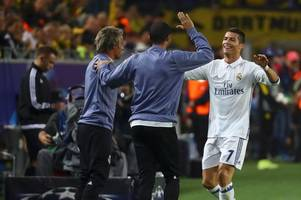 cristiano ronaldo form slump causing rifts in real madrid dressing room