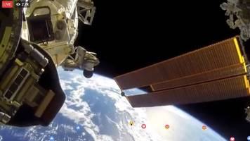 you are not watching a live feed from space