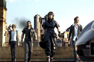 'Final Fantasy XV' celebrates going gold with a beautiful CG trailer