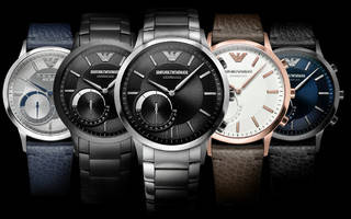 want a high-fashion smartwatch? fossil collaborates with emporio armani, others