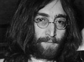 long-lost letter john lennon wrote to the queen turning down an mbe could sell for £60,000 after being found in sleeve of record bought 20 years ago