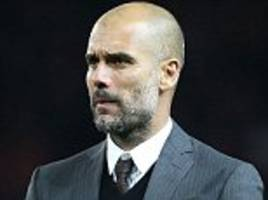 Pep Guardiola goes six games without a win as Manchester City manager... his WORST run of his decorated career