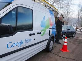 google's cfo just denied it's ditching google fiber, saying the unit is still 'very active' (goog)