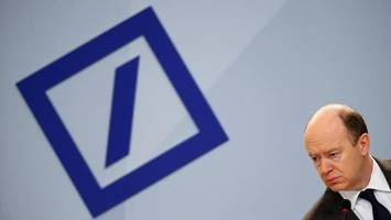 deutsche bank reports unexpected q3 profit, but wall street yawns asking for more