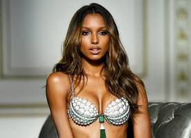 Jasmine Tookes to Rock Victoria's Secret New Fantasy Bra. See and Get Details of the $3M Lingerie!