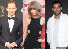 Is This What Tom Hiddleston Thinks of Taylor Swift Getting Close With Drake?