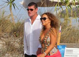 Mariah Carey's Rep Reveals Lovers' Quarrel in Greece Leads to Her Split From James Packer