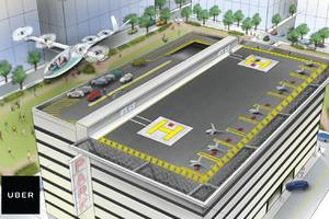 of course uber is working on a flying car project