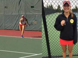 dhs tennis player wins sectional tennis tournament