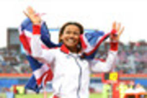 team gb olympian jazmin sawyers auditions for itv singing...